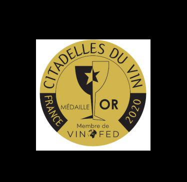 recompense-medaille-or-2020- citadelle-du-vin- chateau-Bégot-2017